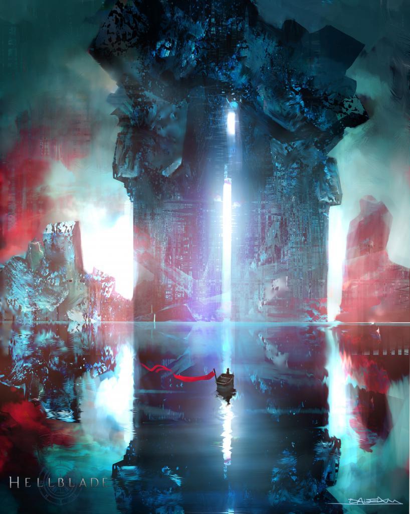 Trojice artworků z Hellblade 101958