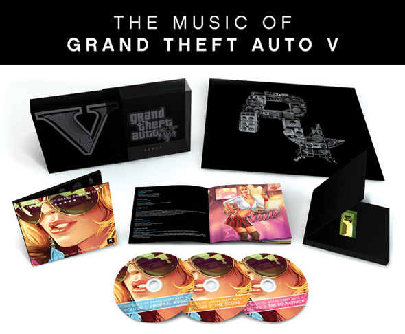 Představena limitovaná edice soundtracku GTA V 101962