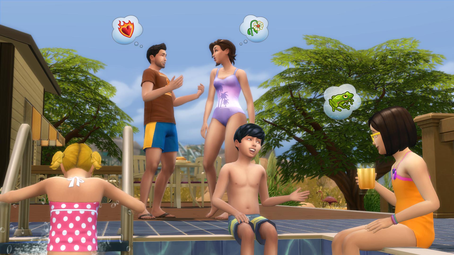 V The Sims 4 jsou konečně bazény 101993