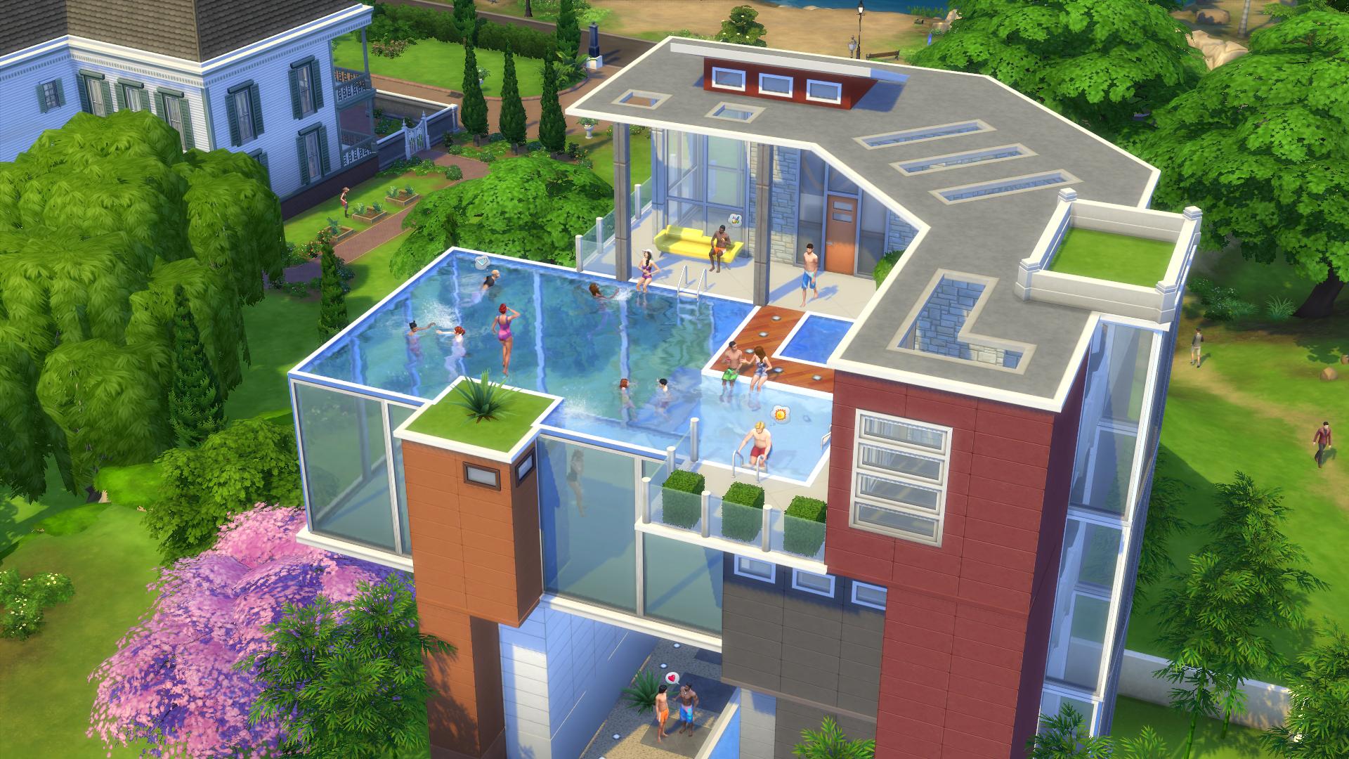 V The Sims 4 jsou konečně bazény 101994