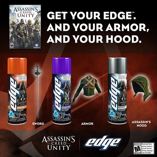 S gelem na holení dostanete DLC pro Assassin's Creed Unity 102009