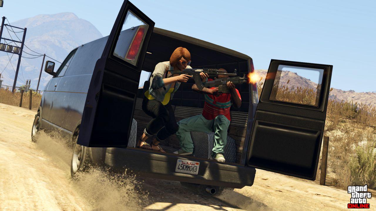 Obrázky z PS4 a Xbox One verzí GTA Online 102104