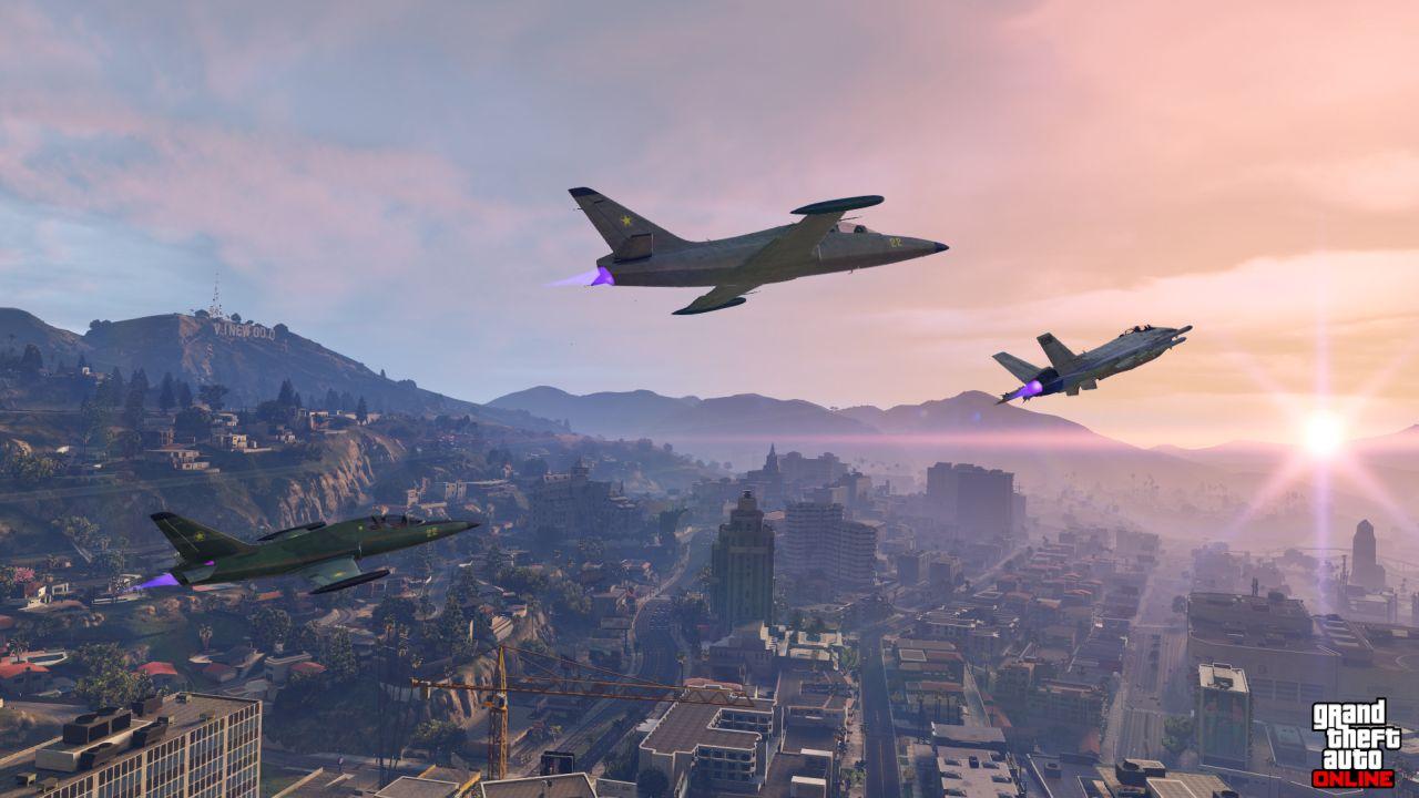Obrázky z PS4 a Xbox One verzí GTA Online 102105