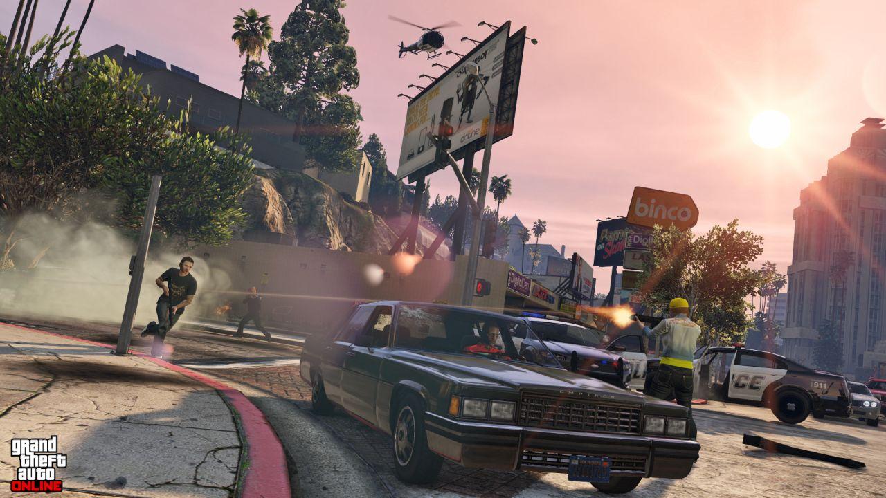 Obrázky z PS4 a Xbox One verzí GTA Online 102107