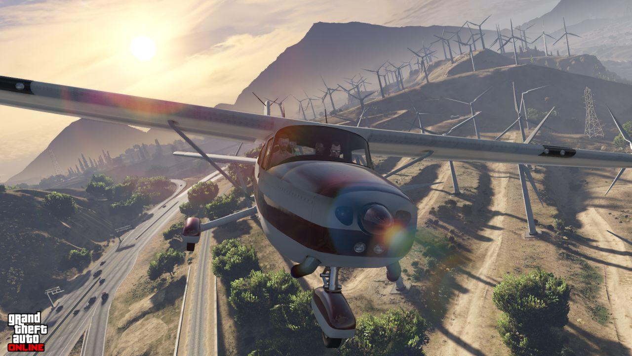 Obrázky z PS4 a Xbox One verzí GTA Online 102108