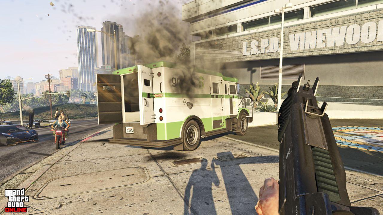 Obrázky z PS4 a Xbox One verzí GTA Online 102109