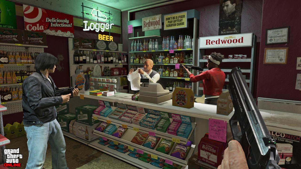 Obrázky z PS4 a Xbox One verzí GTA Online 102110