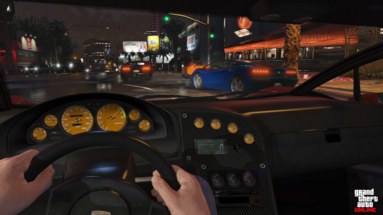 Obrázky z PS4 a Xbox One verzí GTA Online 102111