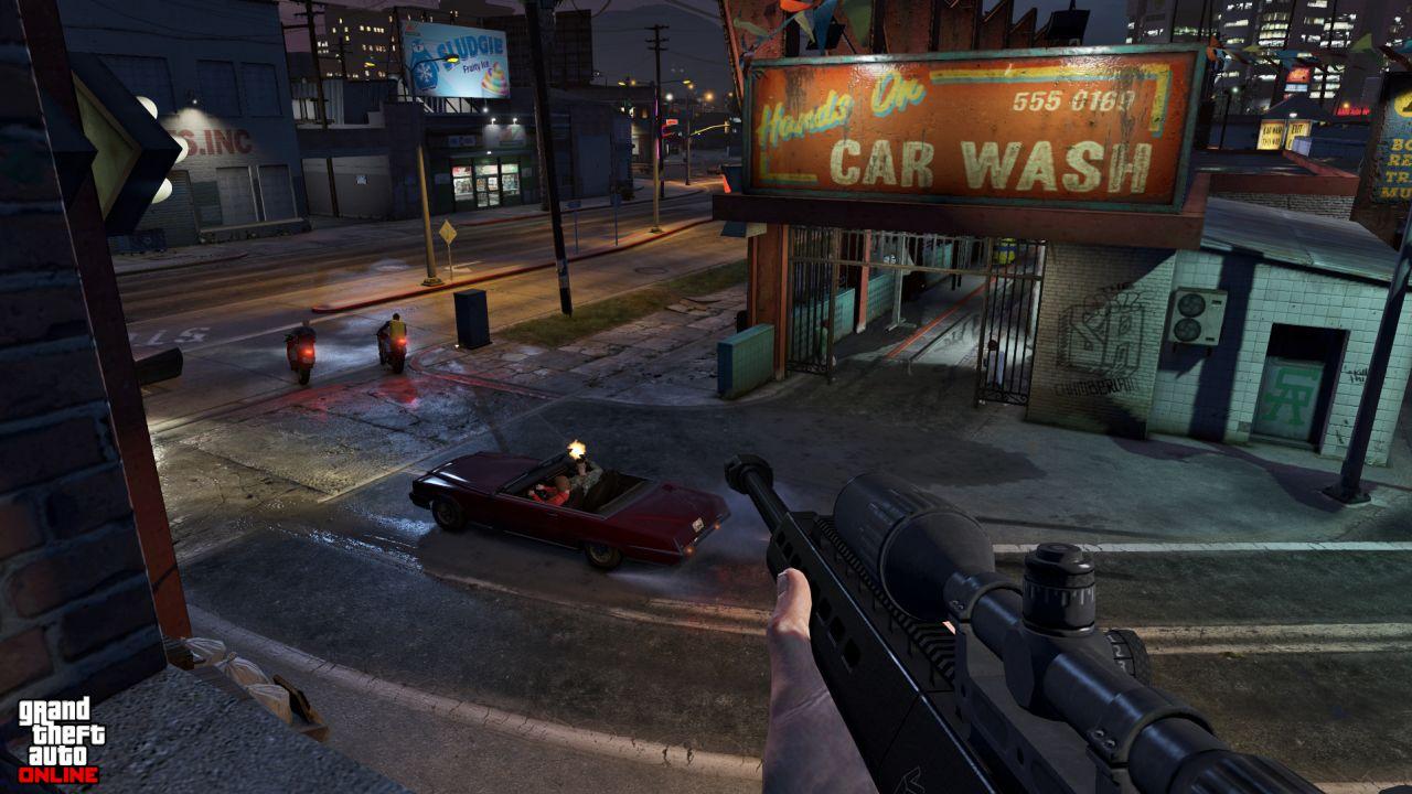 Obrázky z PS4 a Xbox One verzí GTA Online 102112