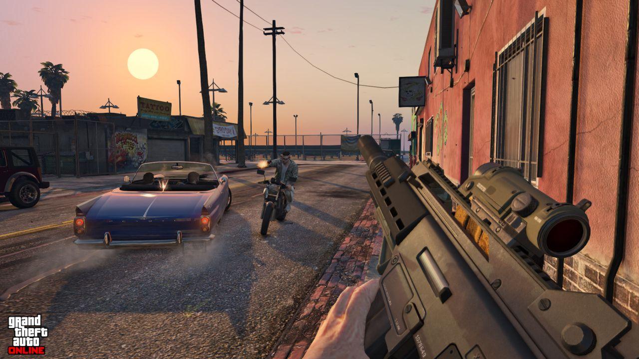 Obrázky z PS4 a Xbox One verzí GTA Online 102113