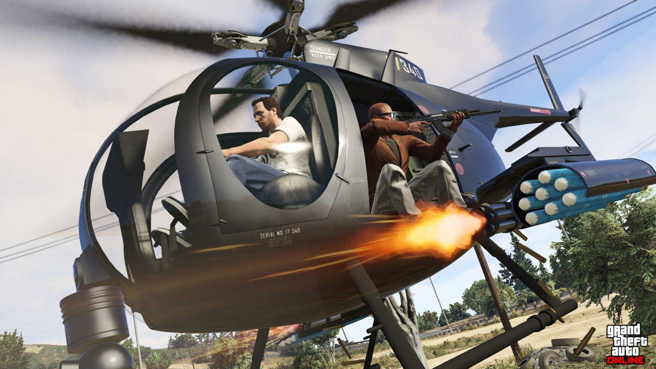 Obrázky z PS4 a Xbox One verzí GTA Online 102114