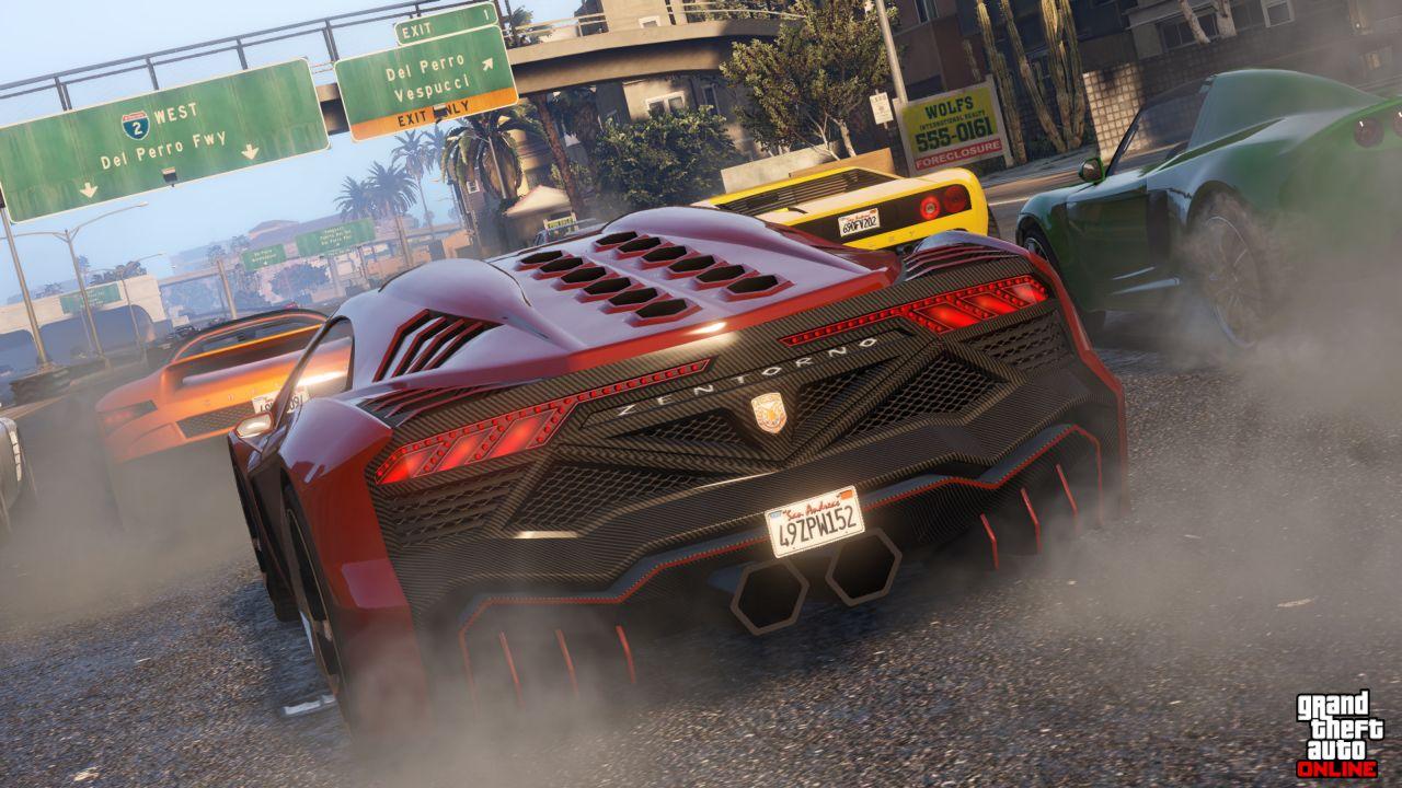 Obrázky z PS4 a Xbox One verzí GTA Online 102115