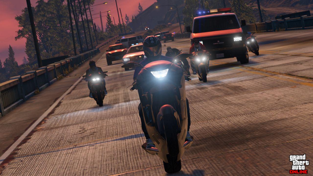 Obrázky z PS4 a Xbox One verzí GTA Online 102116