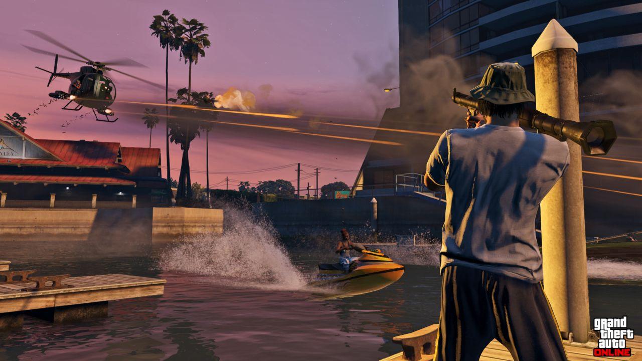 Obrázky z PS4 a Xbox One verzí GTA Online 102117
