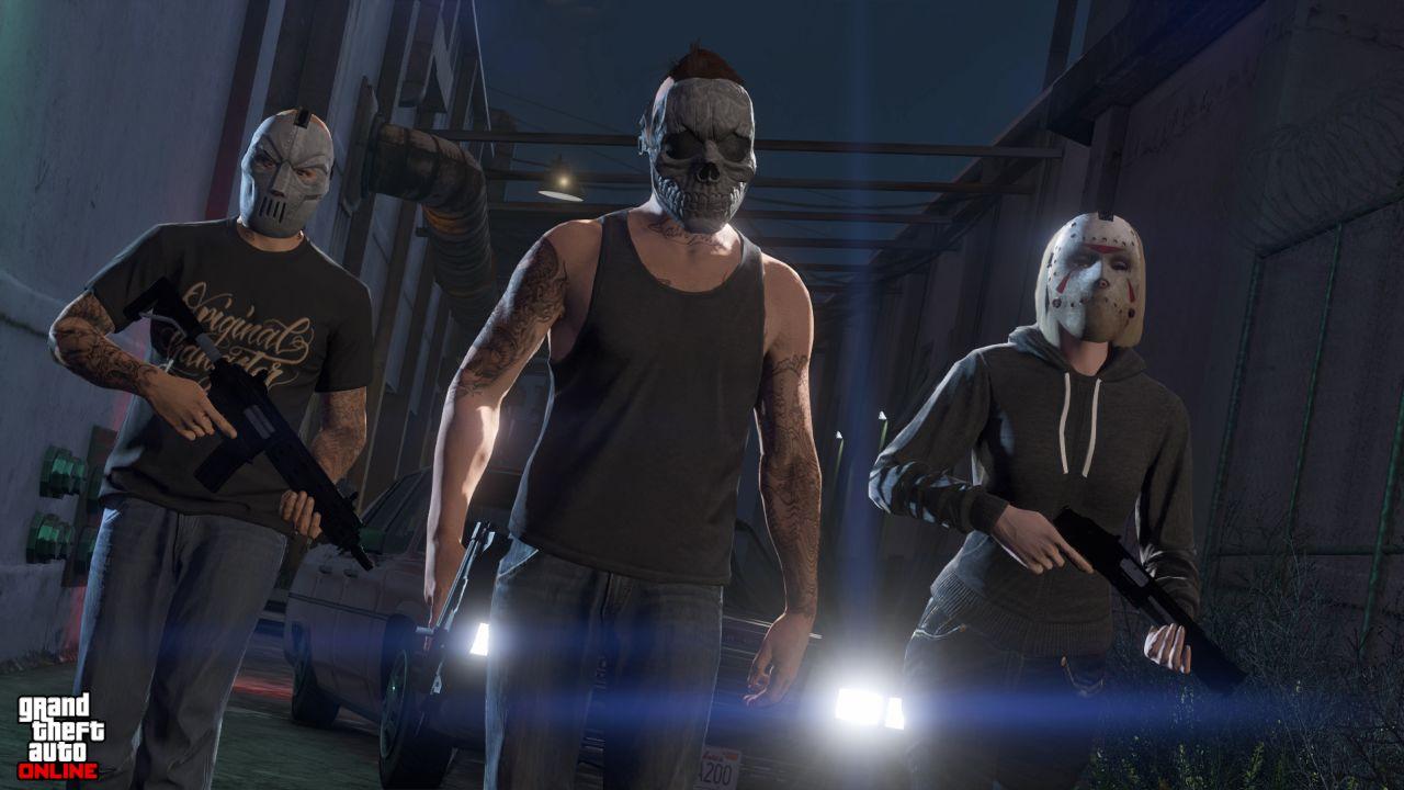 Obrázky z PS4 a Xbox One verzí GTA Online 102118
