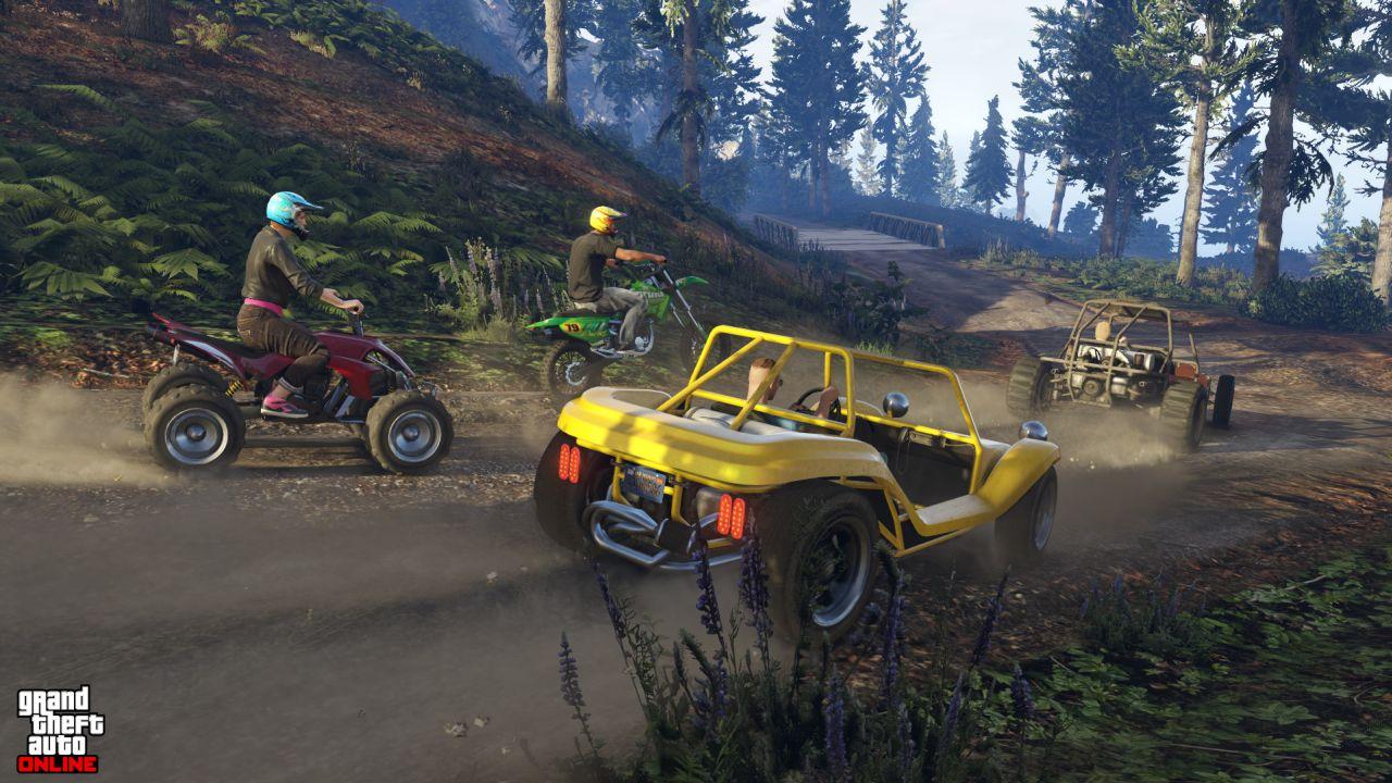 Obrázky z PS4 a Xbox One verzí GTA Online 102119