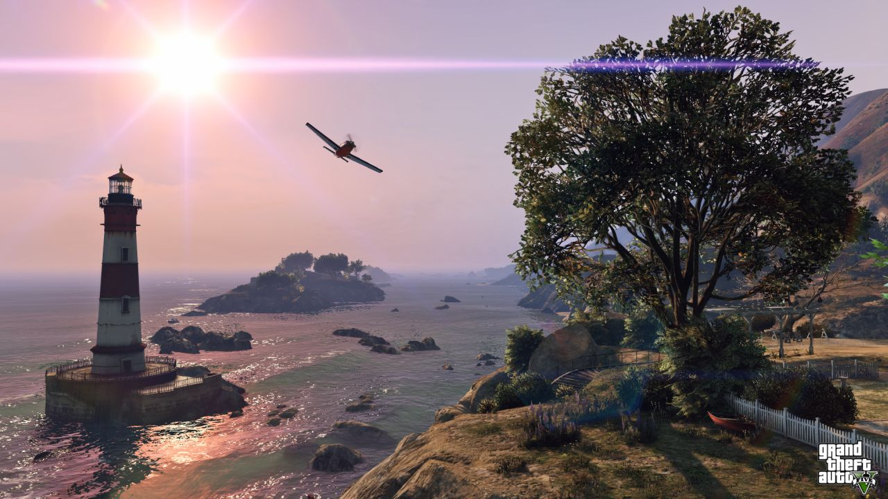 Obrázky z PS4 a Xbox One verzí GTA Online 102120