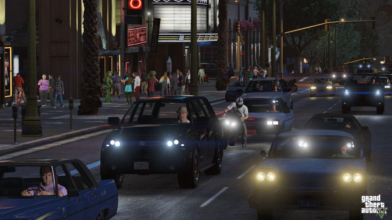 Obrázky z PS4 a Xbox One verzí GTA Online 102121