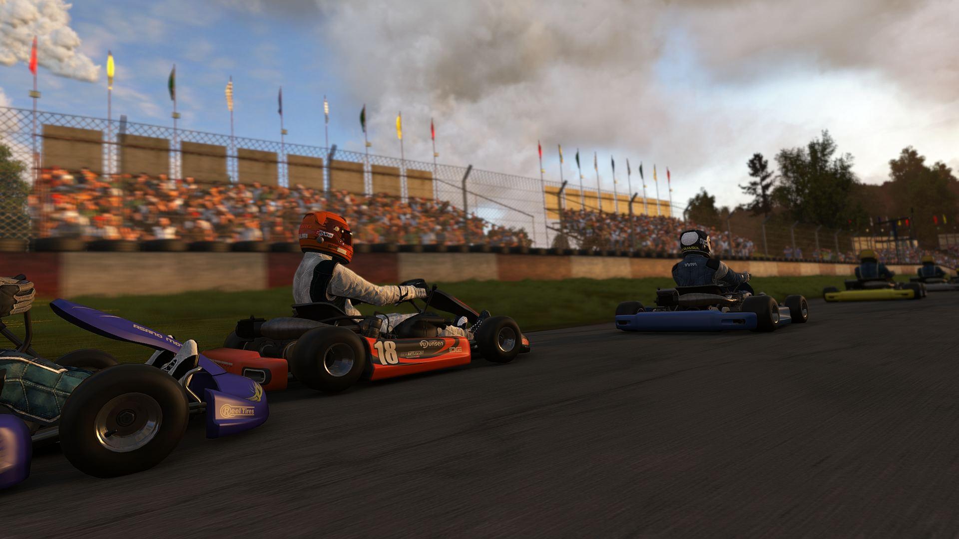 Obrazem: Motokárové závody v Project Cars 102124