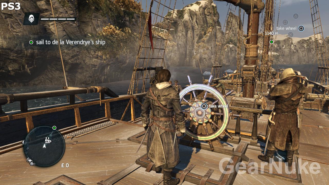 PS3 a Xbox 360 verze Assassin's Creed Rogue jsou dosti odlišné 102365
