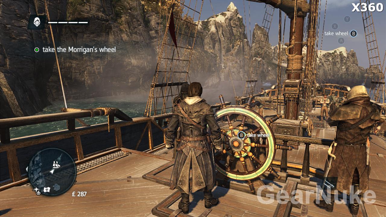 PS3 a Xbox 360 verze Assassin's Creed Rogue jsou dosti odlišné 102366