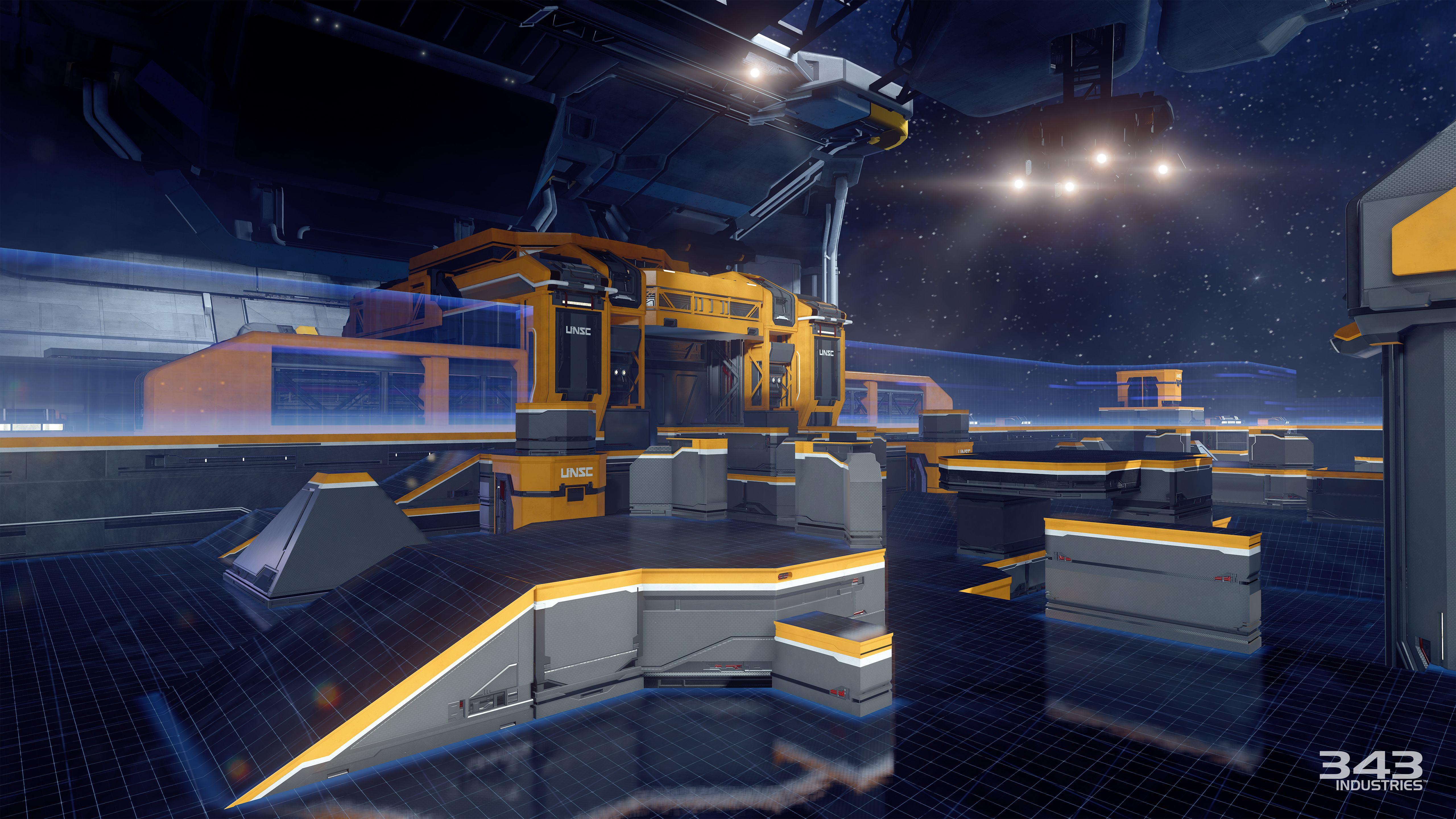 Gameplay záběry z bety Halo 5: Guardians 102378