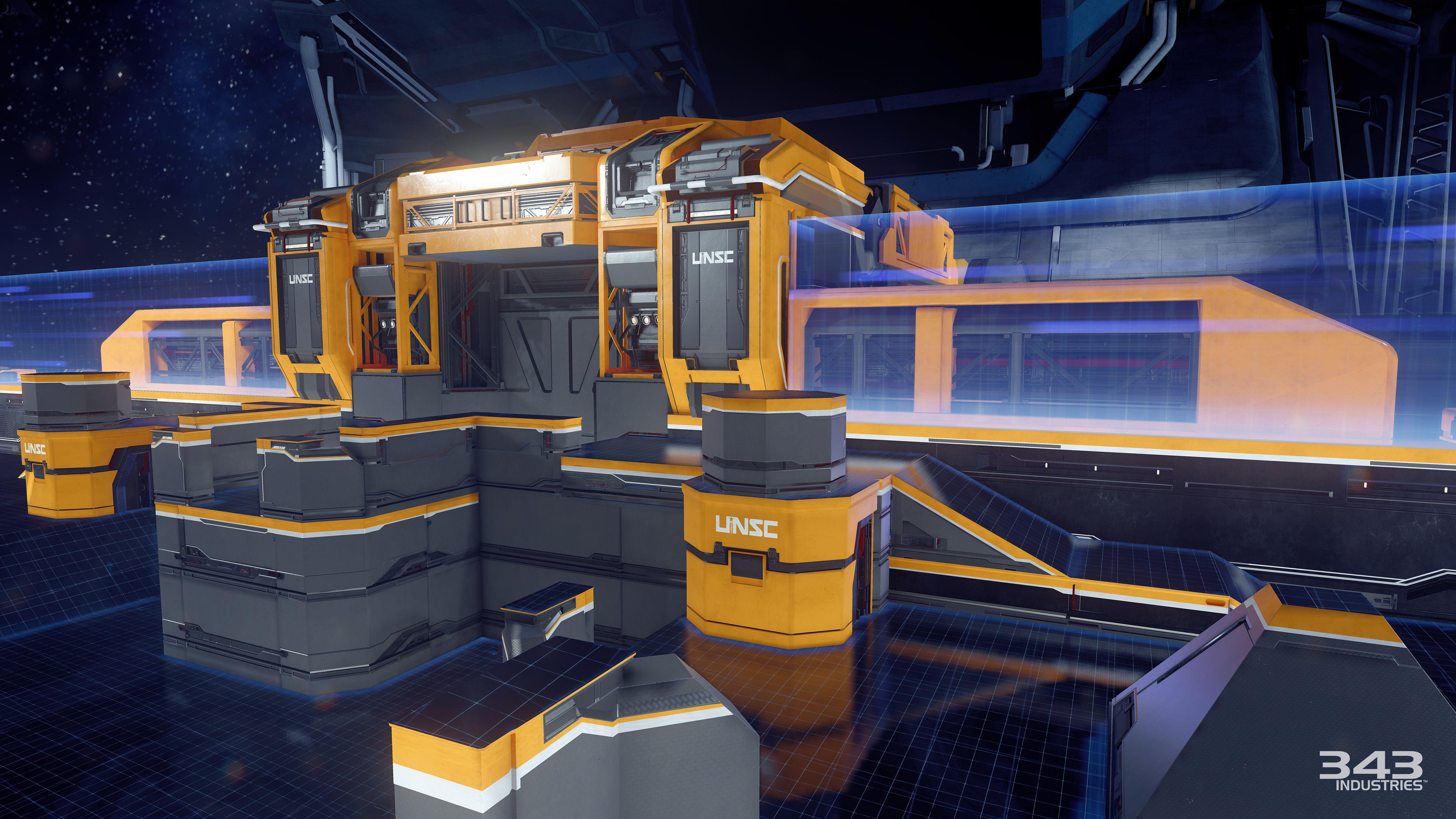 Gameplay záběry z bety Halo 5: Guardians 102379