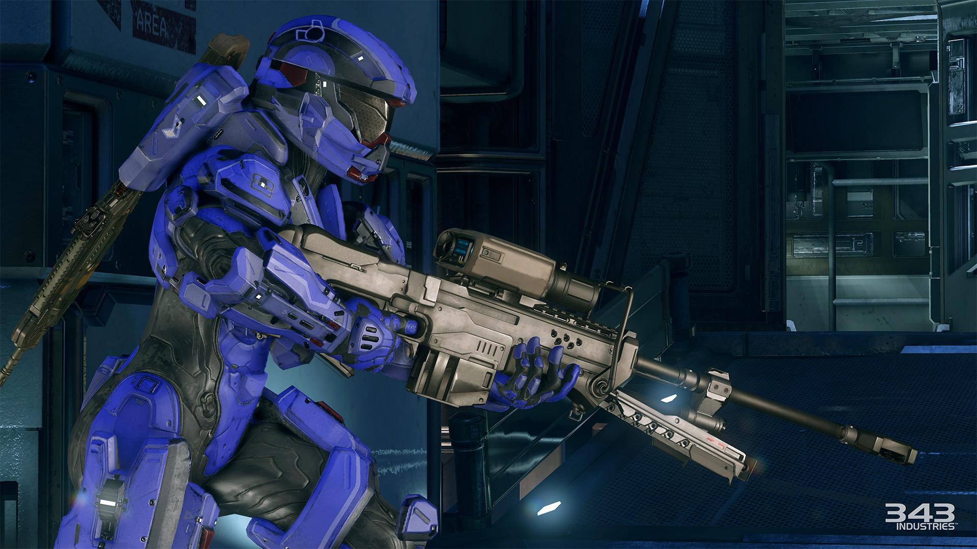 Gameplay záběry z bety Halo 5: Guardians 102384