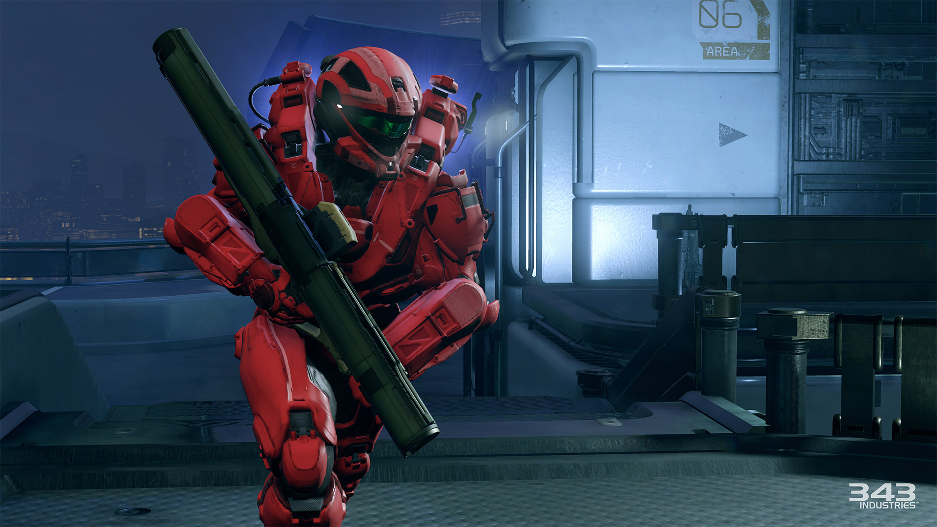 Gameplay záběry z bety Halo 5: Guardians 102385