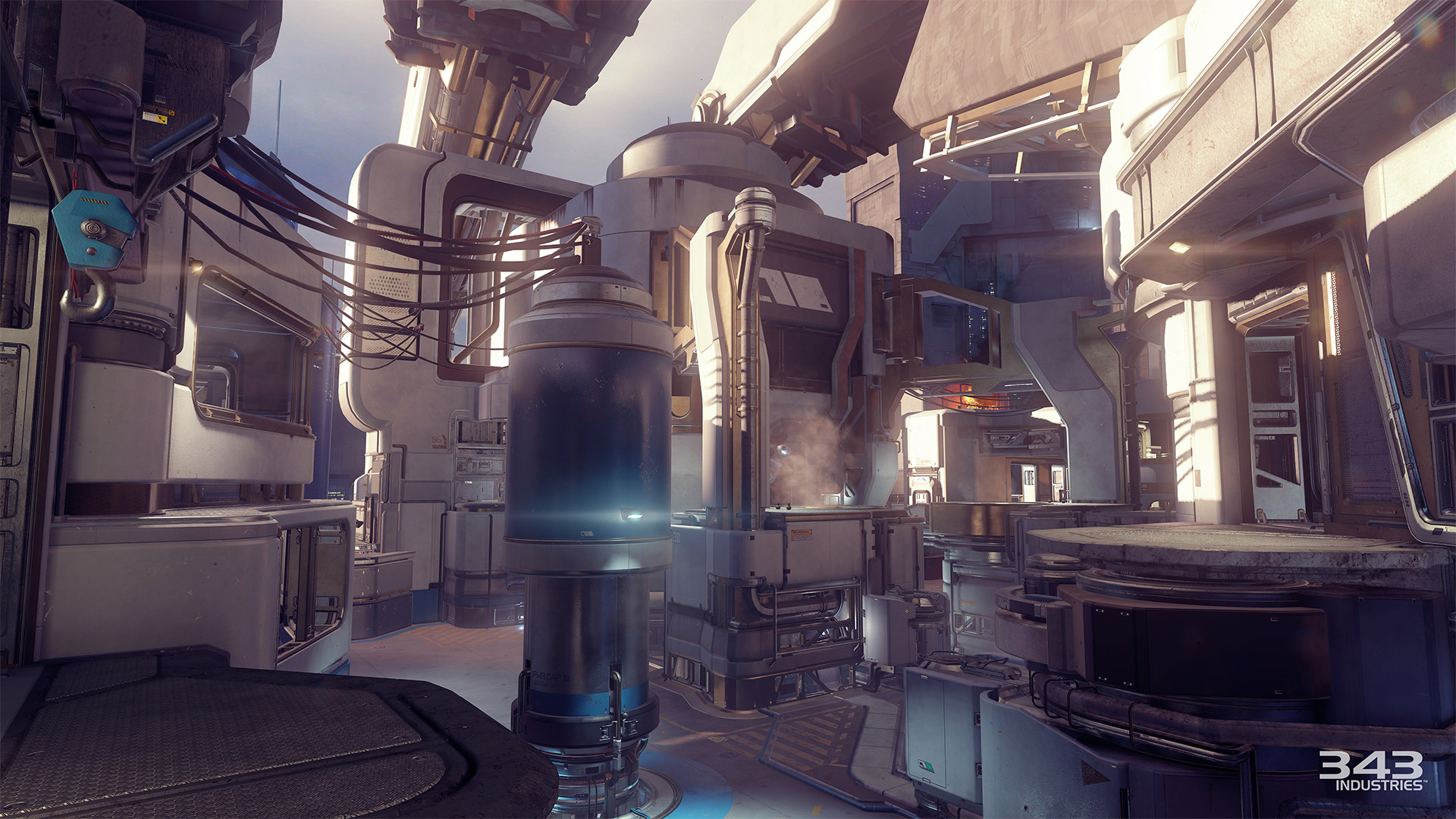 Gameplay záběry z bety Halo 5: Guardians 102386