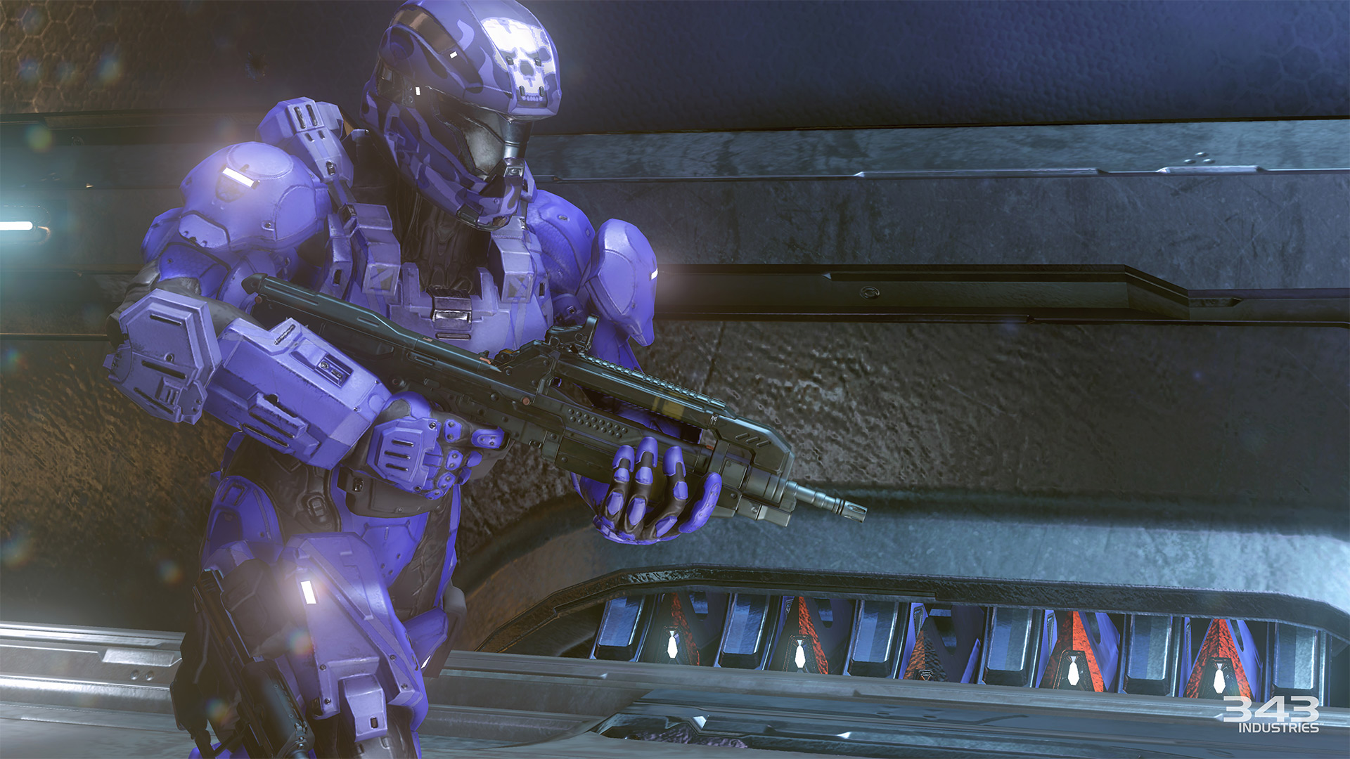 Gameplay záběry z bety Halo 5: Guardians 102387