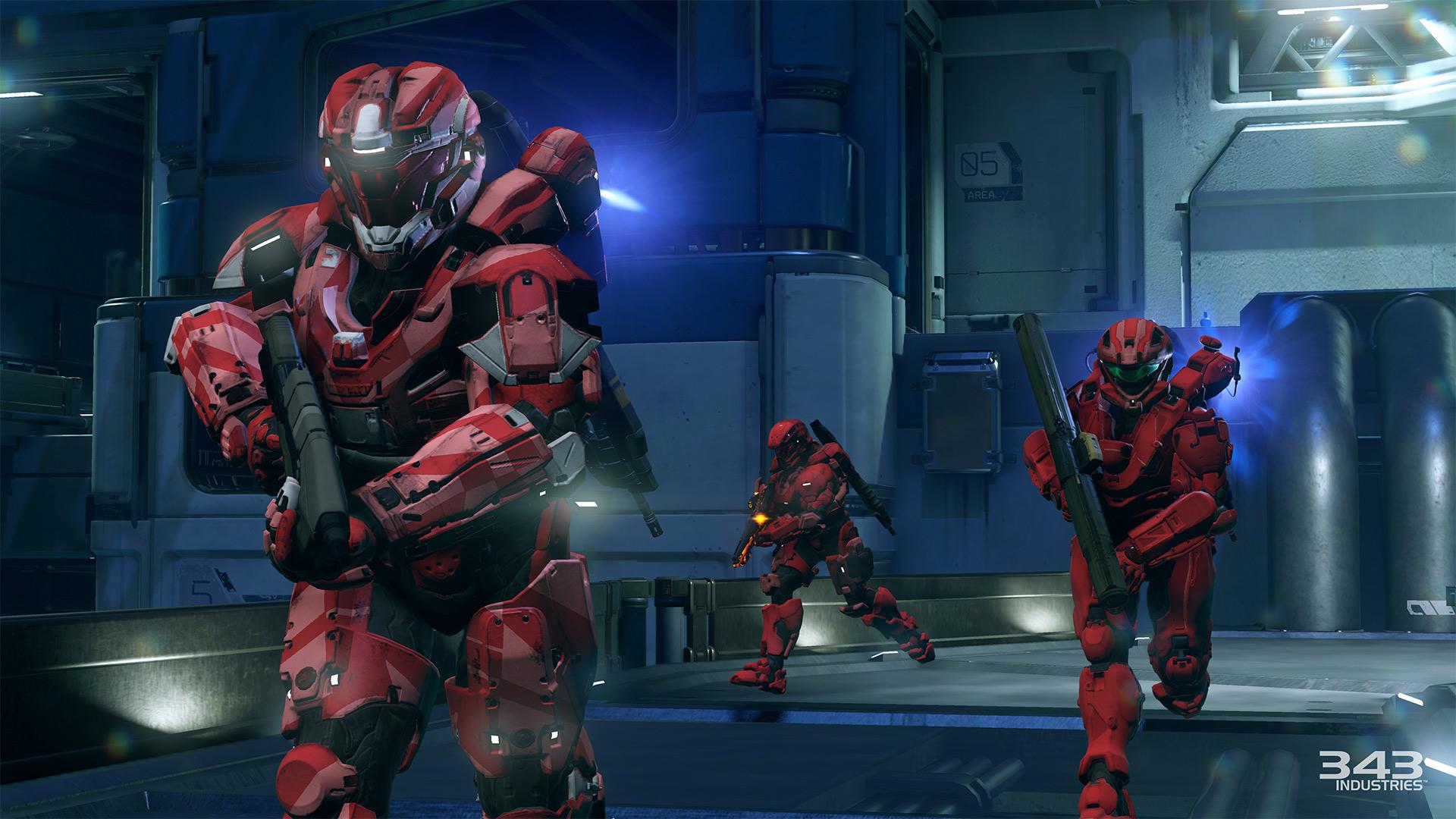 Gameplay záběry z bety Halo 5: Guardians 102388