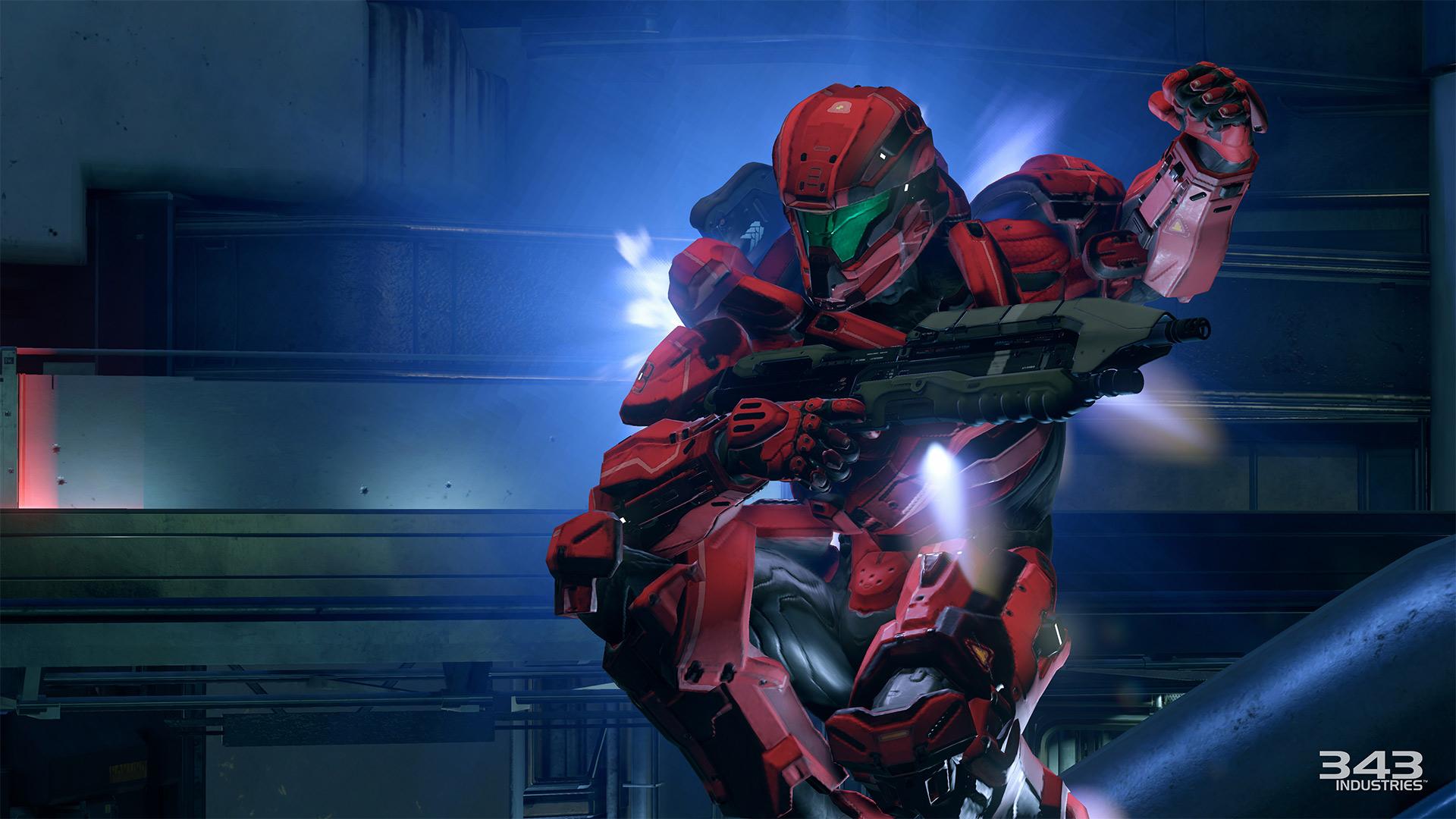 Gameplay záběry z bety Halo 5: Guardians 102390