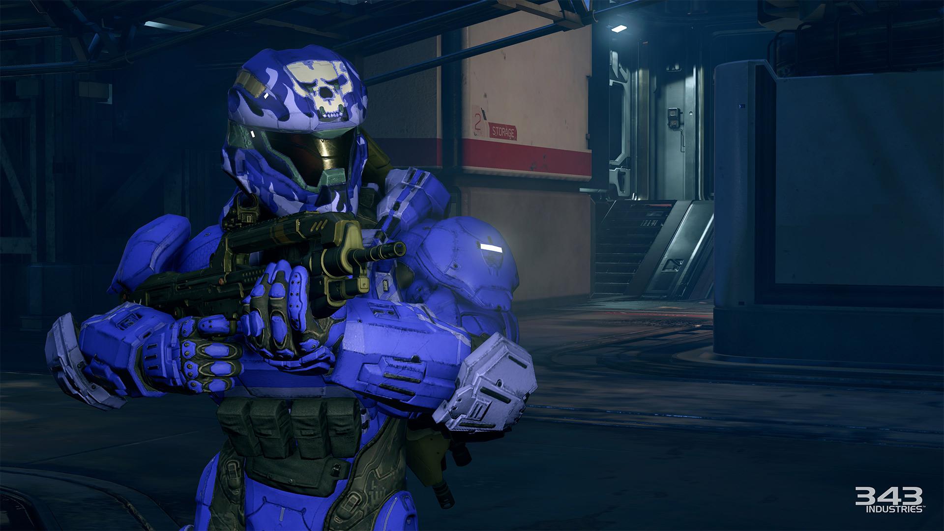 Gameplay záběry z bety Halo 5: Guardians 102391