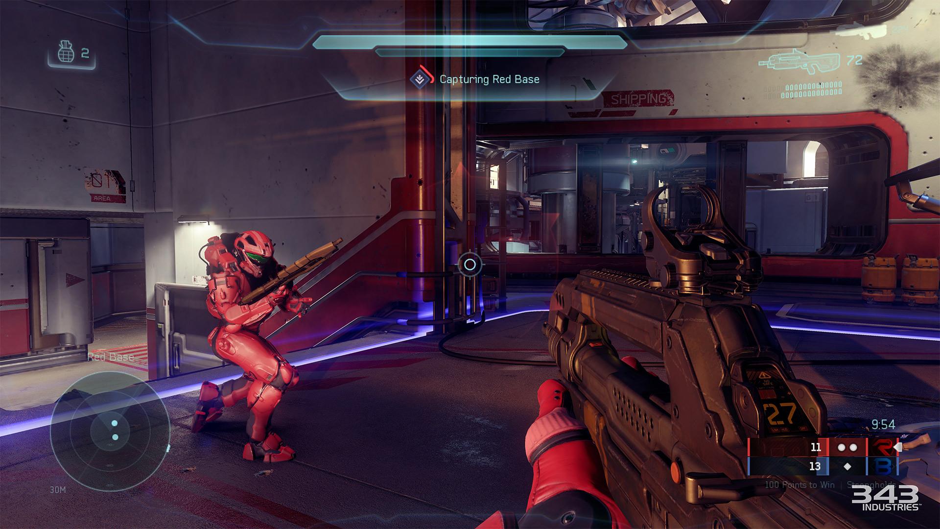 Gameplay záběry z bety Halo 5: Guardians 102393