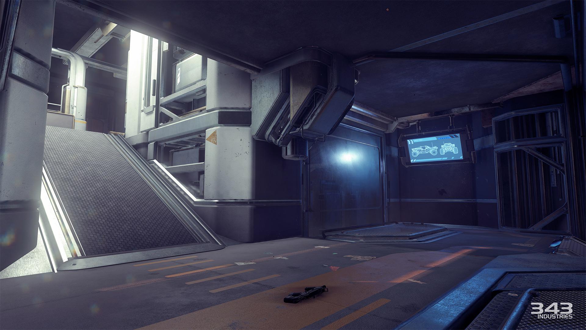 Gameplay záběry z bety Halo 5: Guardians 102395