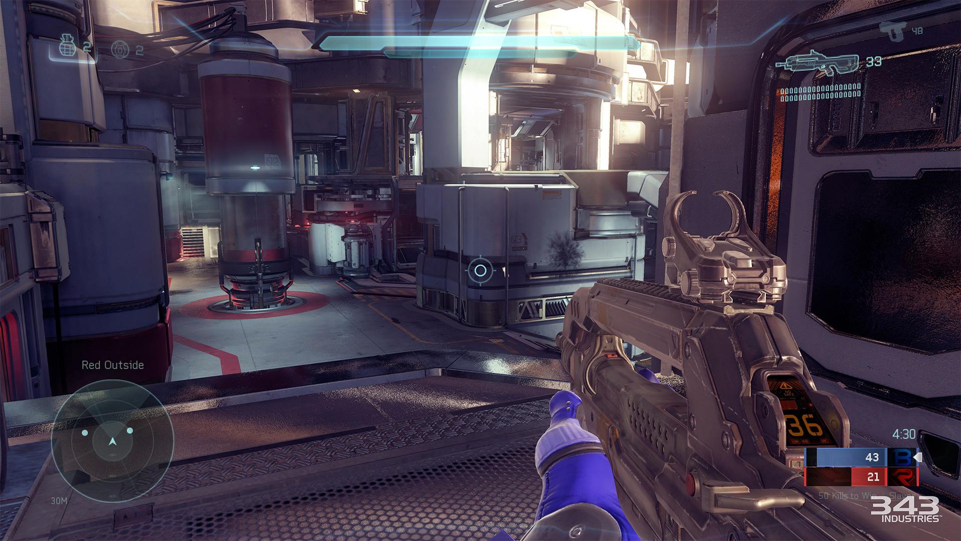 Gameplay záběry z bety Halo 5: Guardians 102396