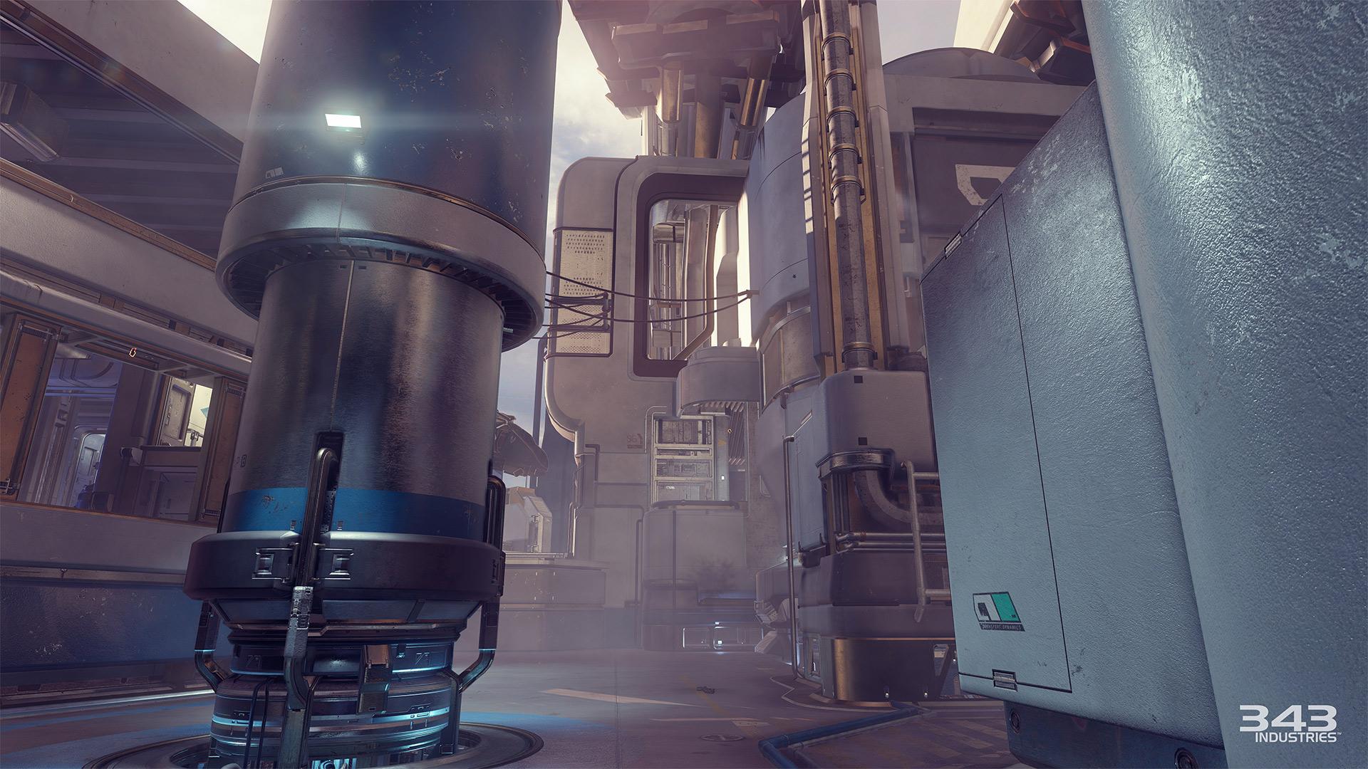 Gameplay záběry z bety Halo 5: Guardians 102398