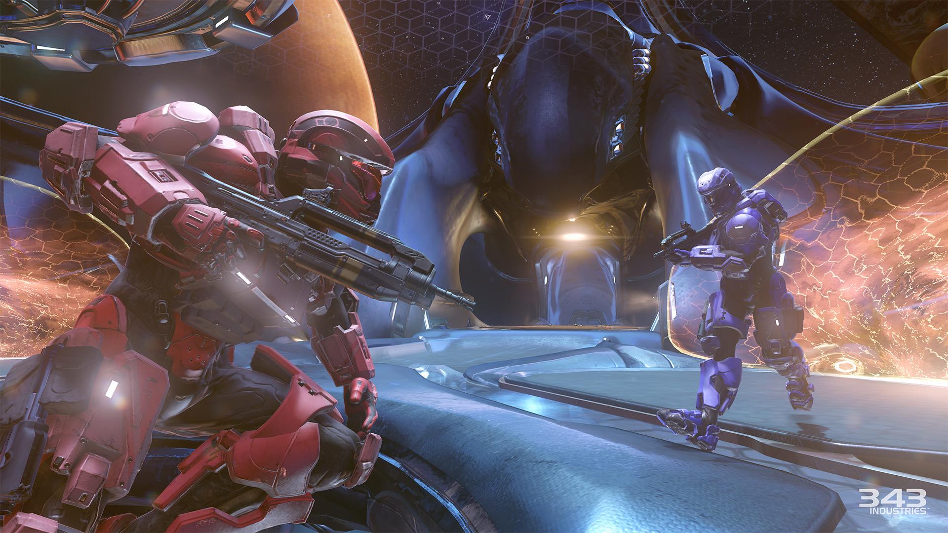 Gameplay záběry z bety Halo 5: Guardians 102400