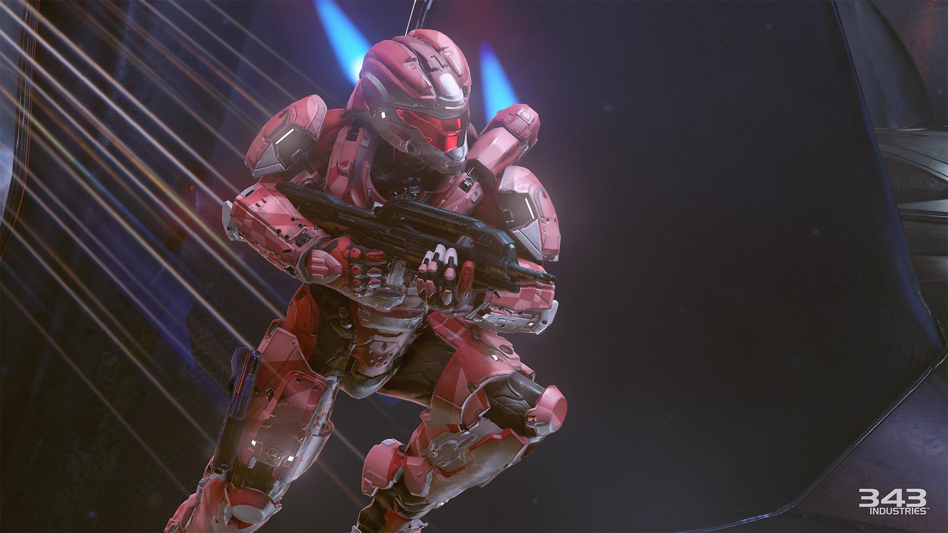 Gameplay záběry z bety Halo 5: Guardians 102401