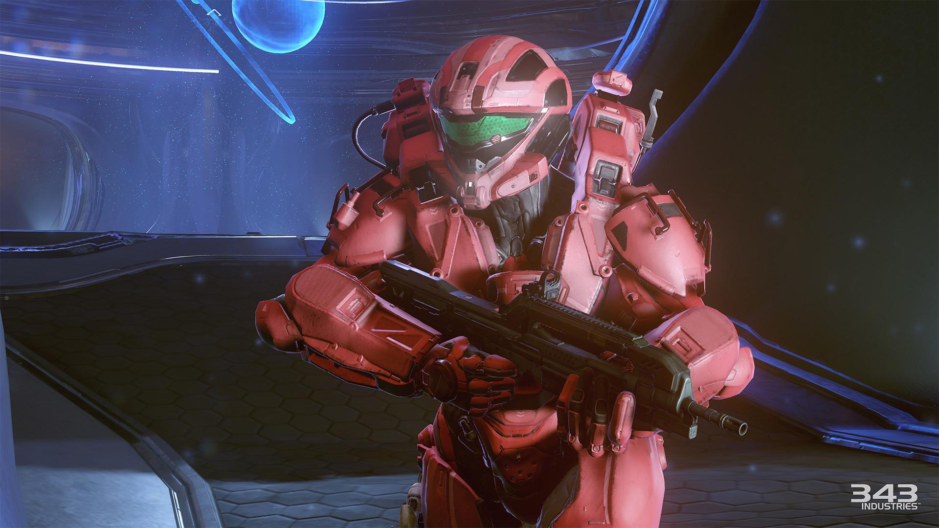 Gameplay záběry z bety Halo 5: Guardians 102403