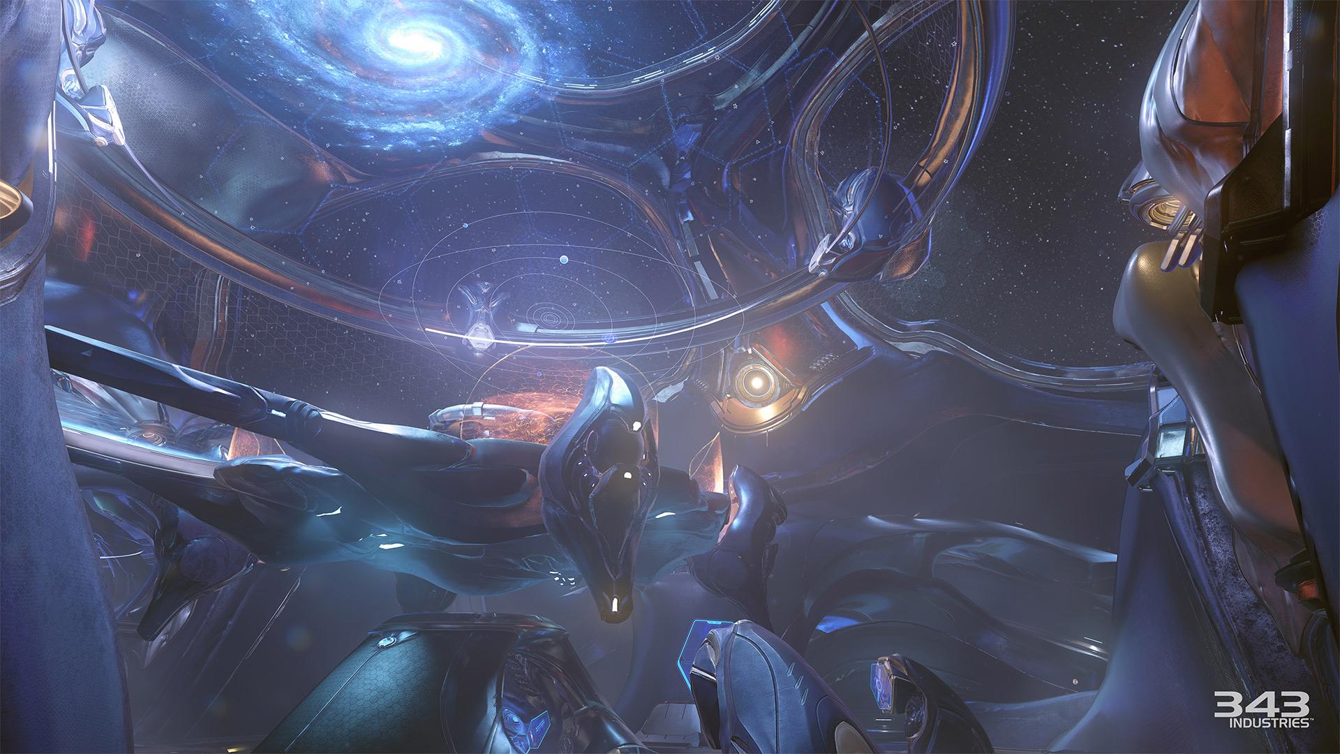 Gameplay záběry z bety Halo 5: Guardians 102404