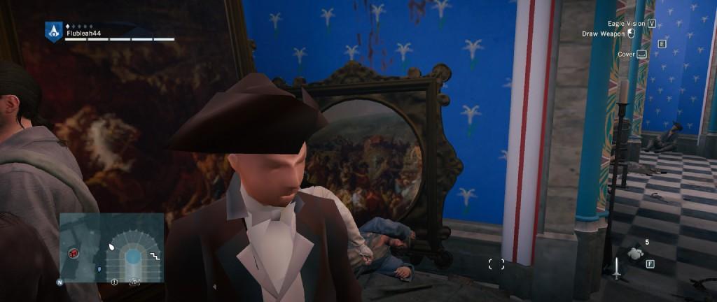 PC verze Assassin's Creed: Unity dělá z postav děsivá monstra 102418