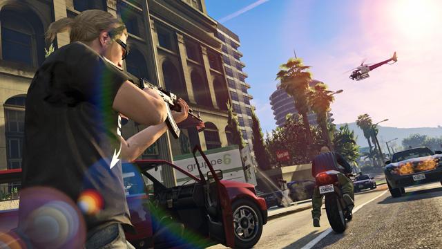 Obrazem: Závody s 30 hráči a vytváření postavy v GTA Online 102436