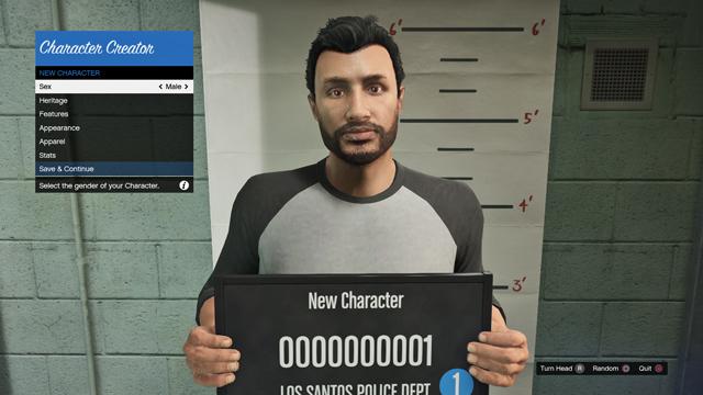 Obrazem: Závody s 30 hráči a vytváření postavy v GTA Online 102437