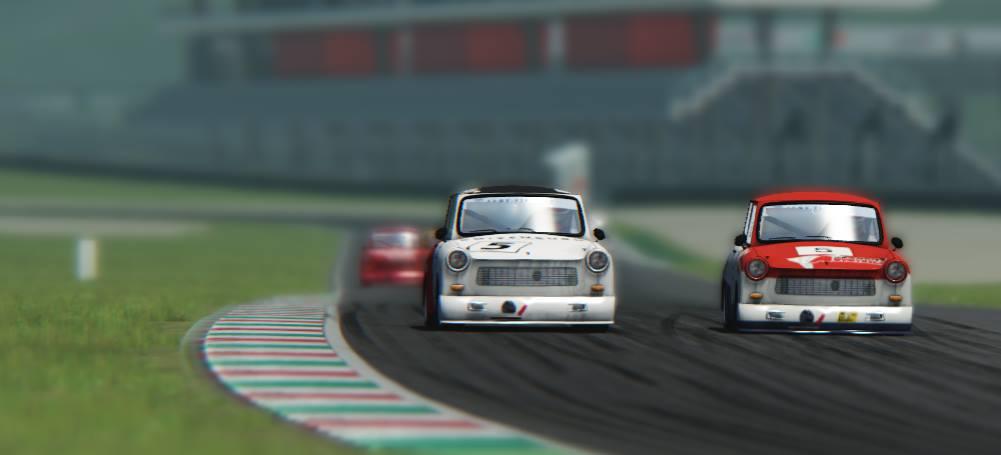 Závody trabantů v simulátoru Assetto Corsa 102619