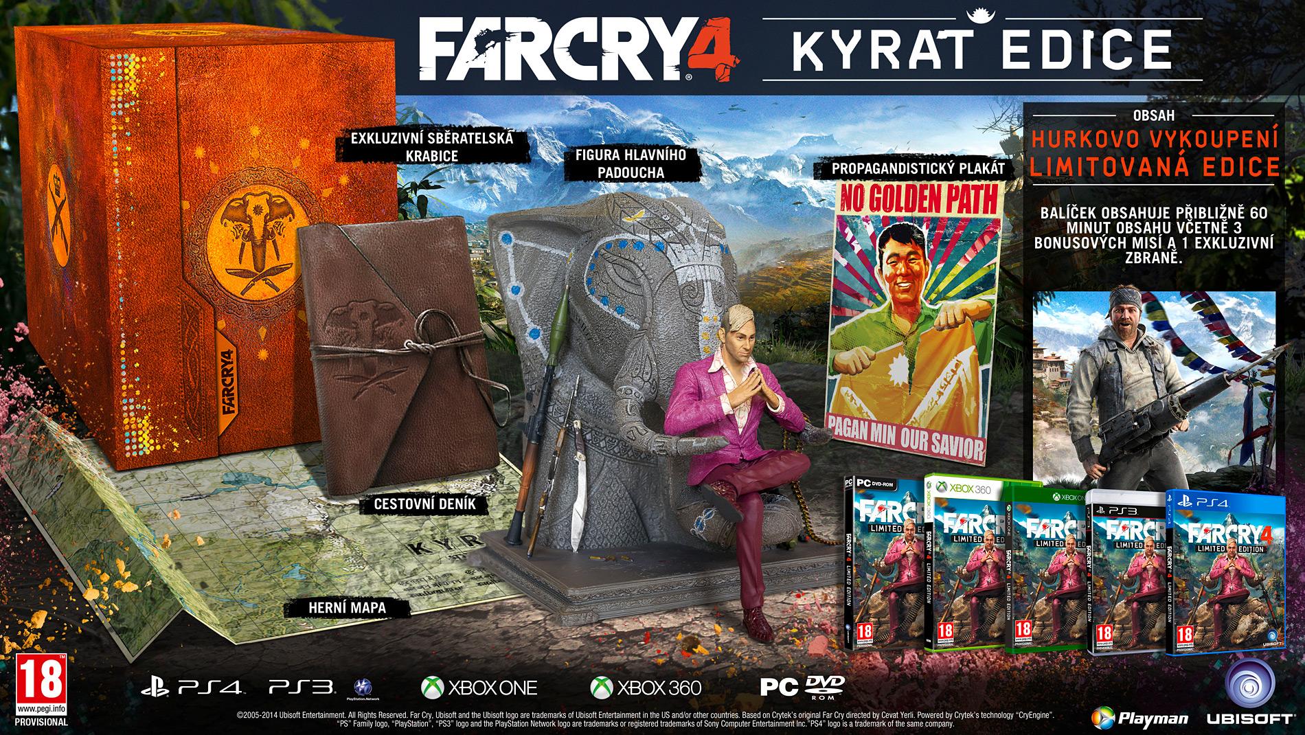Poslední kusy Kyrat edice PS4 verze Far Cry 4 102672
