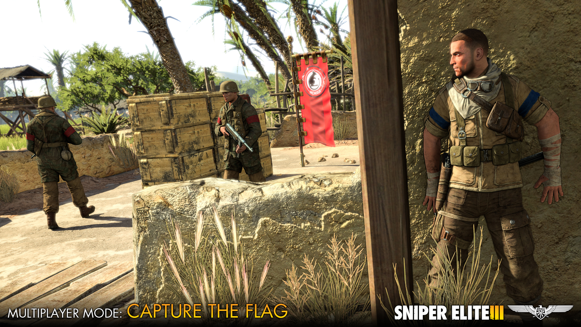 Sniper Elite 3 dostává zdarma střelnici a multiplayerové DLC 102680