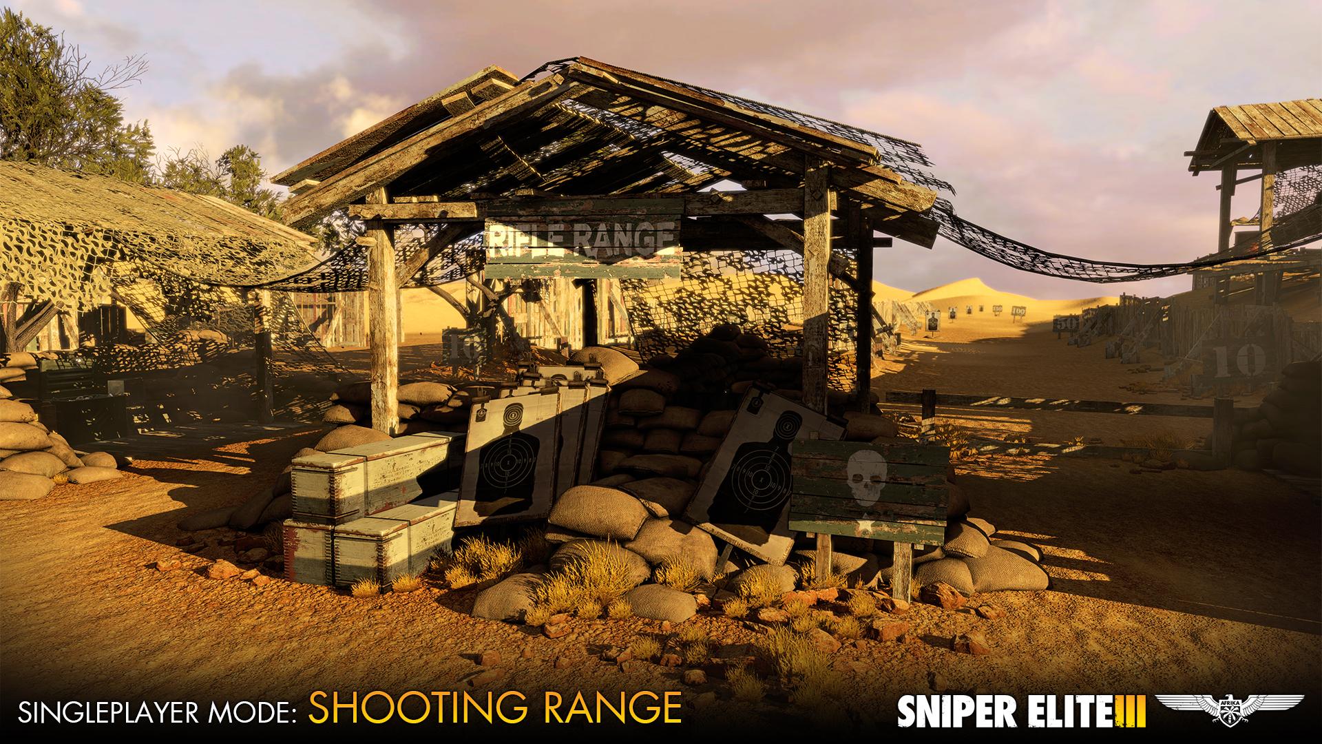 Sniper Elite 3 dostává zdarma střelnici a multiplayerové DLC 102681