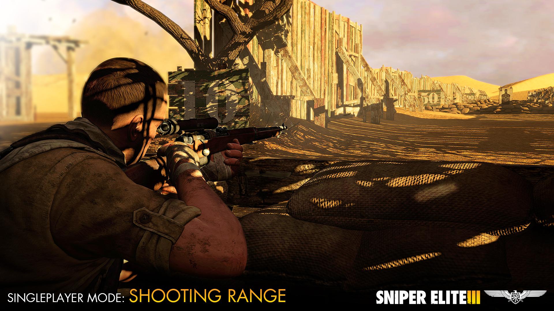 Sniper Elite 3 dostává zdarma střelnici a multiplayerové DLC 102682